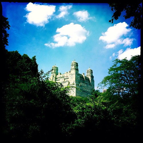 Helen's Castle in the Sky - The Beresford was home to the Queen of Cosmo, Helen Gurley Brown who passed this past week at the age of 90.
