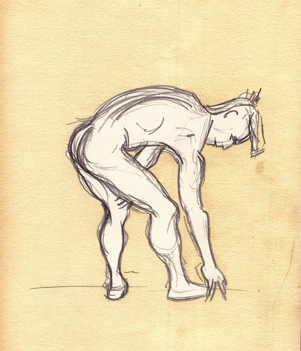 LifeDrawing_Bend