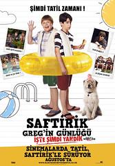 Saftirik Greg'in Günlüğü: İşte Şimdi Yandık - Diary Of A Wimpy Kid: Dog Days (2012)