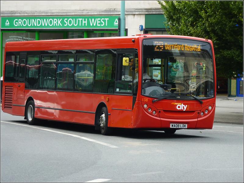 Plymouth Citybus 138 WA08LDK