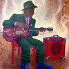 Charlie Christian #guitarhero #happybirthday #centenary #paint