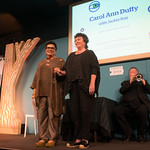 Carol Ann Duffy With Jackie Kay | The UK Poet Laureate and new Scots Makar appear on stage for the first time together at the Book Festival  © Alan McCredie