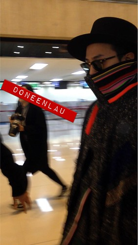 Big Bang - Gimpo Airport - 15jan2015 - G-Dragon - DoneenLau - 02