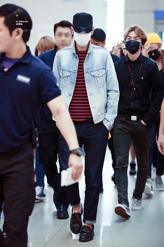 BIGBANG departure Seoul ICN to Manila 2015-07-30 (2)