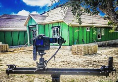 RxDesign Photography and Media  www.rxdesign.com . #joelspring  #rxdesign  #RxDesignPhotography #sanantonio #texas . Great skies today for breaking out my @Kesslercrane #cineslider to make a time lapse segment for a builder video project. . #canon #canon5