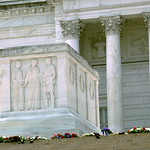 SW and up - Tomb of the Unknown Soldier - Arlington National Cemetery - 2012