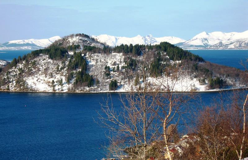 View from Lihallen kulturgård, Sigerfjord, Sortland
