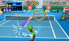 Mario Tennis Open - ring game