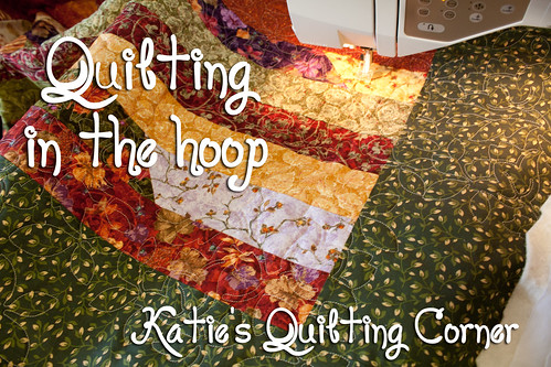 Marking Quilting Designs On Your Top : How to quilt using your embroidery machine