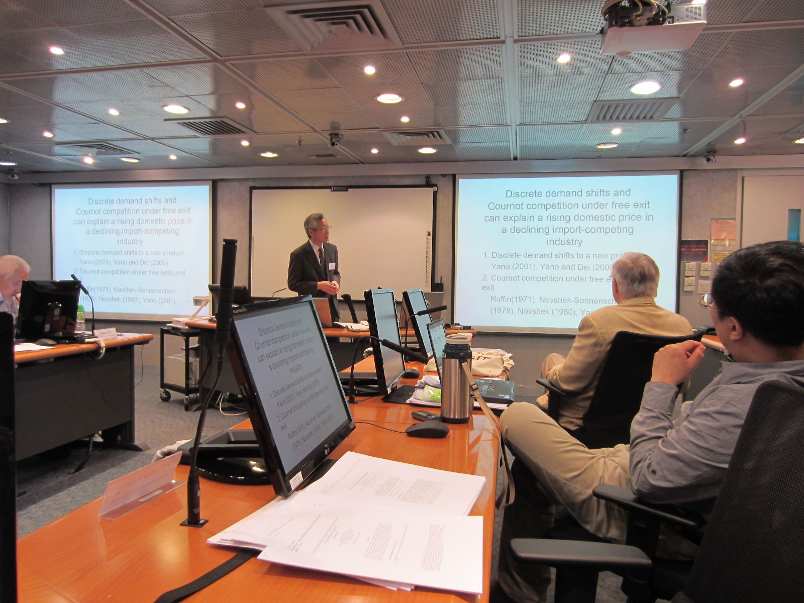 Prof Dei's presentation