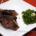 Roasted Lamb and Peas