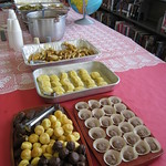 Armenian, Italian, and Brazilian deserts