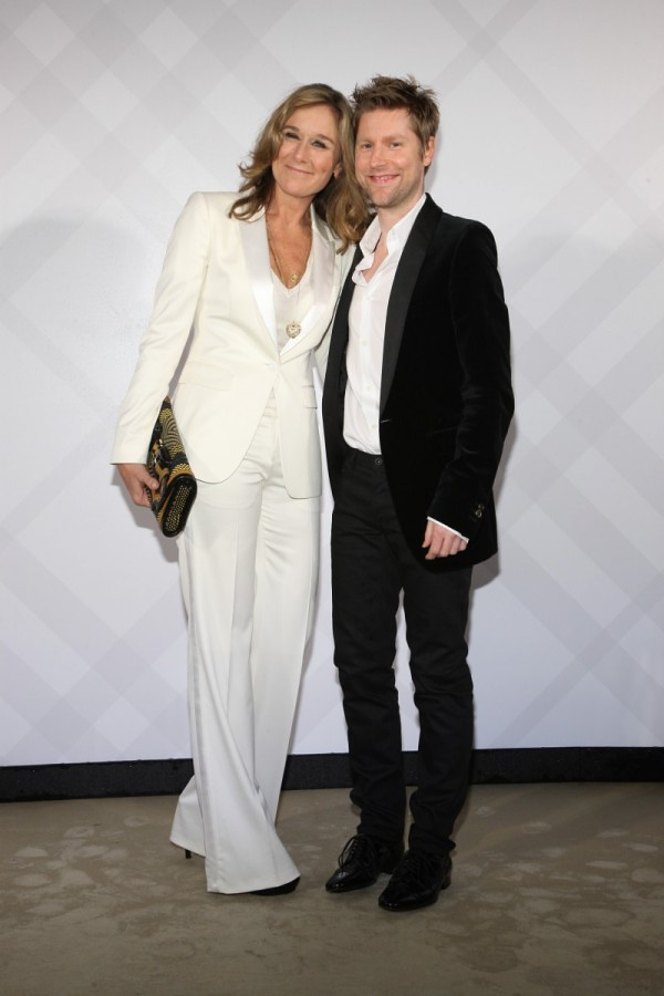 5 - Angela Ahrendts and Christopher Bailey