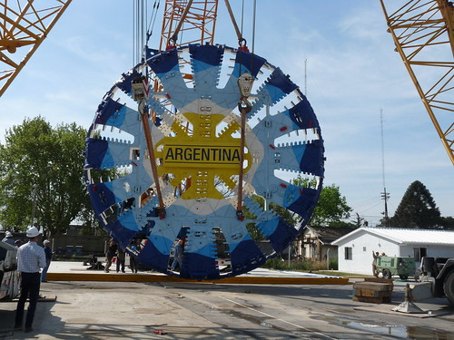 Avanzan las obras del corredor ferroviario Caballito-Moreno en Argentina
