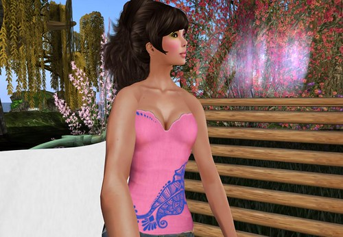 {bilo} Opening Gift - Jamila in Pink and Blue by Cherokeeh Asteria