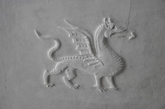 Plas Mawr plaster dragon