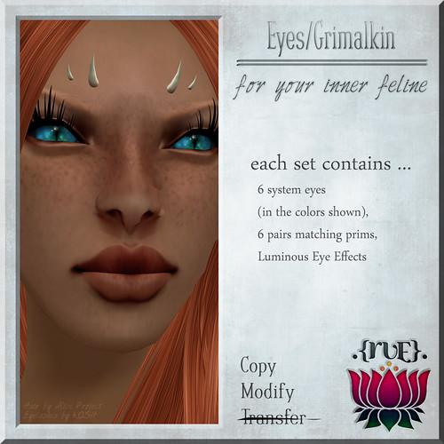 .{Rue}. Eyes / Grimalkin