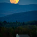 Supermoon over my house by Jeff Weeks Photography
