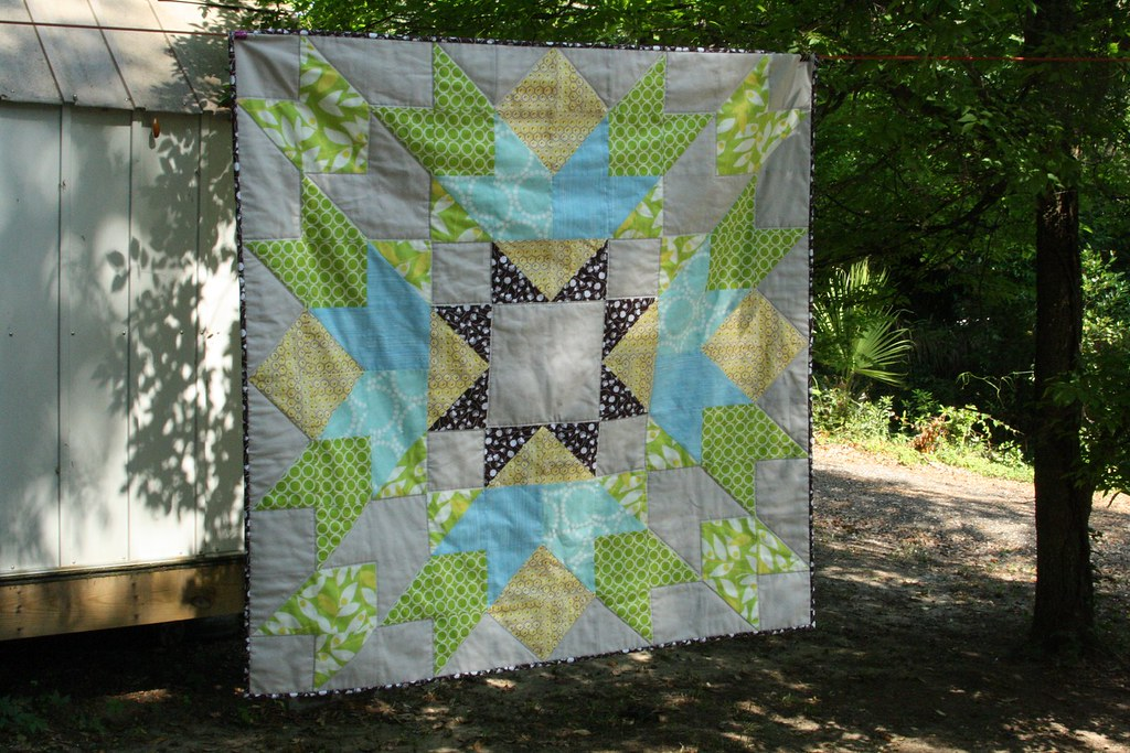 Cosmic Burst Quilt Along-finished