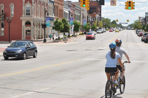 Bicycle Built for Two in Downtown Port Huron