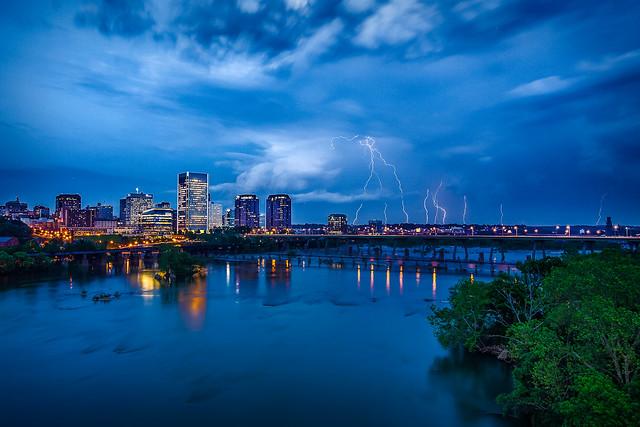 Summer Storm-Richmond Virgina