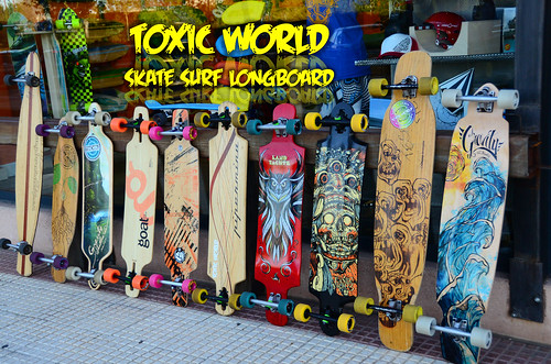 Toxic World Shop Longboard Madrid Landyachtz Loaded Cult Wheels AirFlow Pipermina Goat Gravity Paris Bear Truck