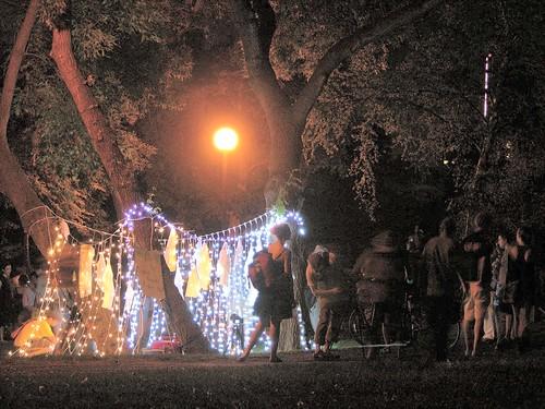 2012 Northern Spark string of lights
