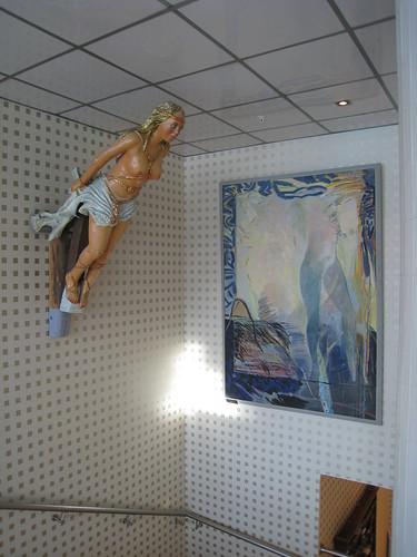 Ship figure + Herbert Thoma: Akt