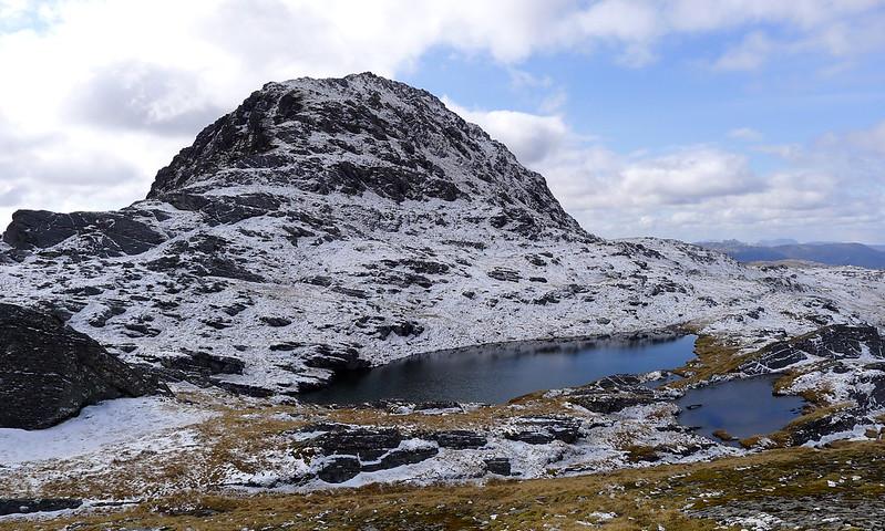 Final summit slopes of Bidein a' Choire Sheasgaich