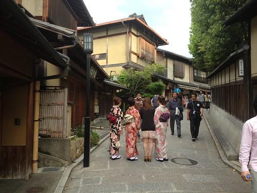 Visita al templo de Kiyumizu-dera, Kyoto