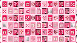 PamKittyLove Button fabric