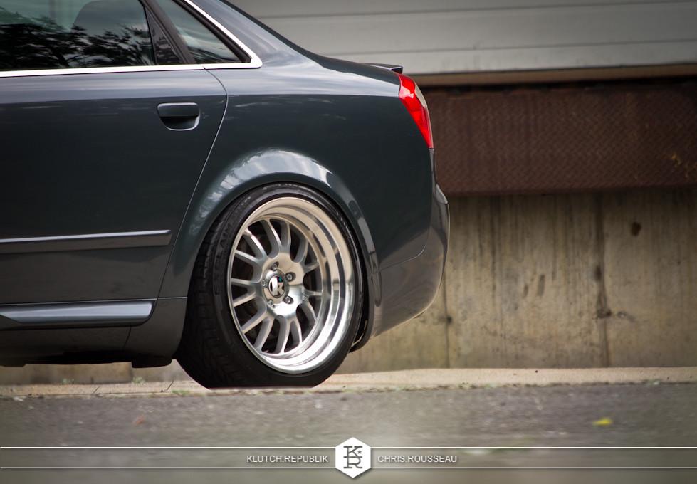 audi b6 a4 fitment on klutch wheels SL14