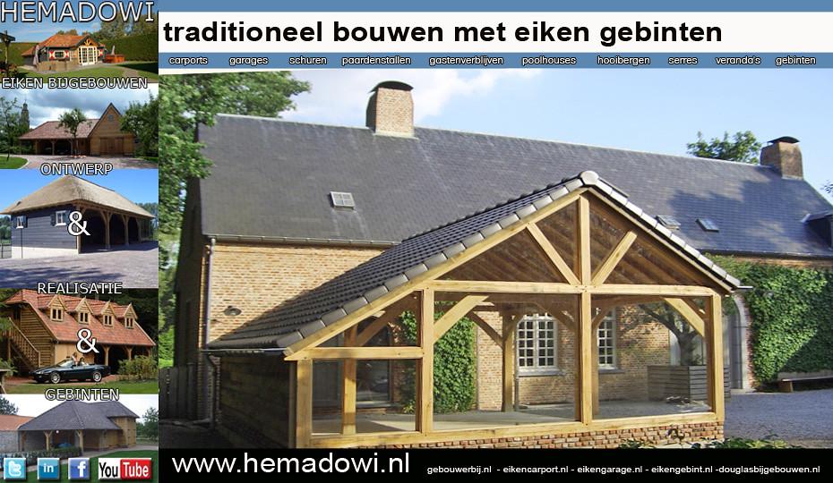 eiken carport met eiken of douglas gebint van bij uw belgische villa of landhuis kijk op
