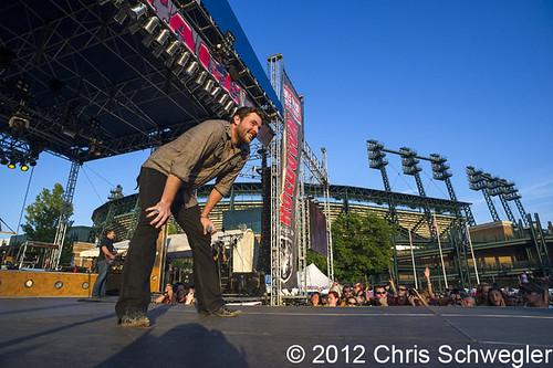 Chris Young - 06-10-12 - WYCD Downtown Hoedown 2012, Comerica Park, Detroit, MI