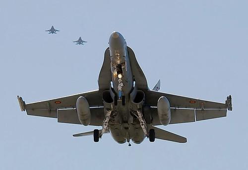 TLP 2012-3 EdA F-18 y HAF F-16