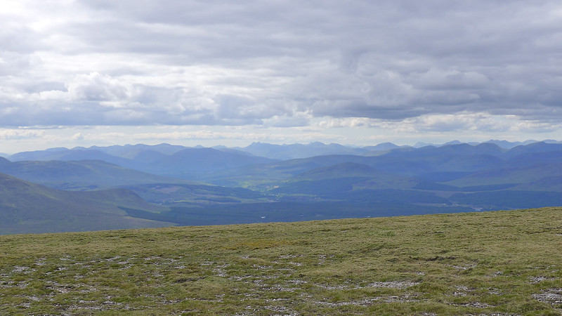 Looking across Glen Spean from Geal-Chàrn