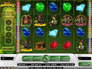 Relic Raiders slot game online review