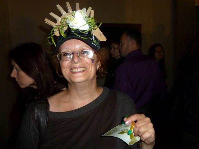 Минск Ночь музеев 2012 Креативная шляпка - пропуск в музей