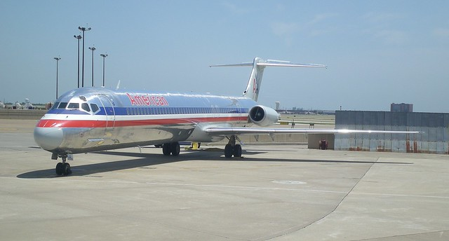 American Airlines S80 Jet http://www.flickr.com/photos/swfphotos/7235575040/