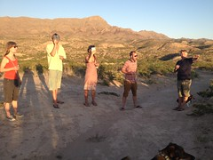 Eclipse Party on the Mesa by mikeysklar