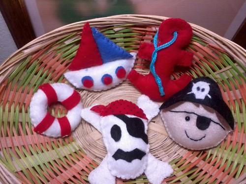 Festinha do Pirata. by ♥Paninhos em forma de amor♥