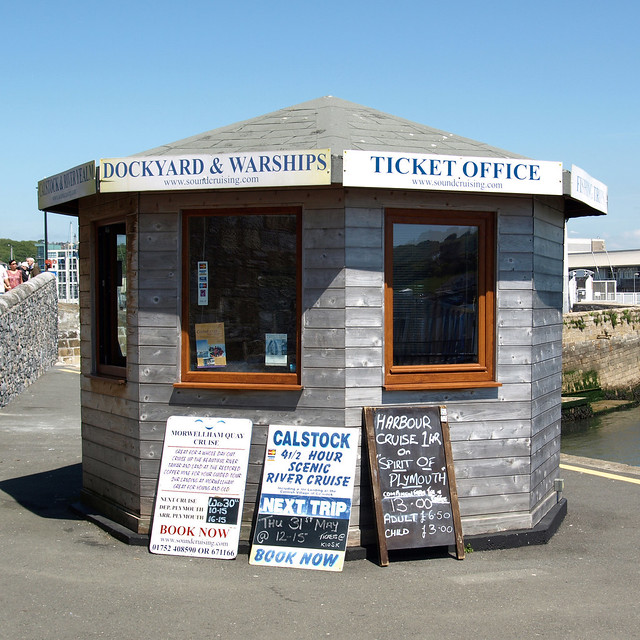 Octagonal Ticket Office Barbican Plymouth Devon