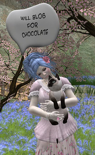 Will blog for chocolate