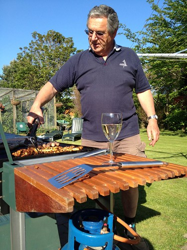 The barbecue king!