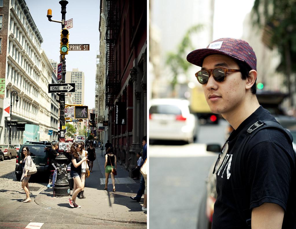 Ray Masaki in Soho