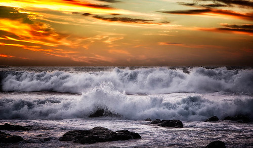 sea newzealand seascape nature clouds landscape waves sxbaird stewartbaird
