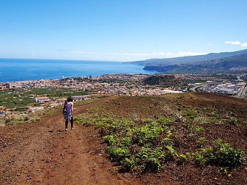 La Orotava Valley, Puerto de la Cruz from Montaña de los Frailes