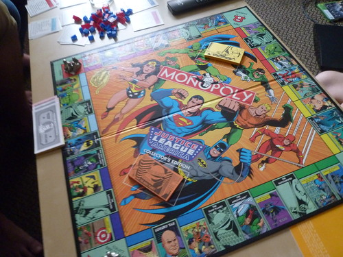 Justice League Monopoly by rachlyf