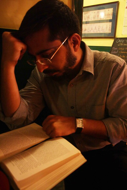 City Reading – The Delhi Proustians XX, Café Turtle