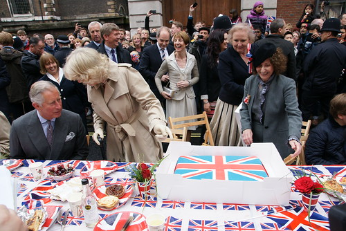 The Big Jubilee Lunch on Piccadilly by The British Monarchy